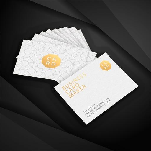 Custom business card maker app data review photo video apps custom business card maker app logo friedricerecipe Choice Image