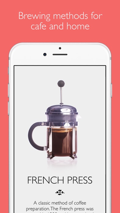 The Great Coffee App review screenshots