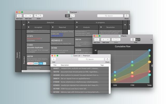 Schreibtisch design apple  Kanbanier on the Mac App Store