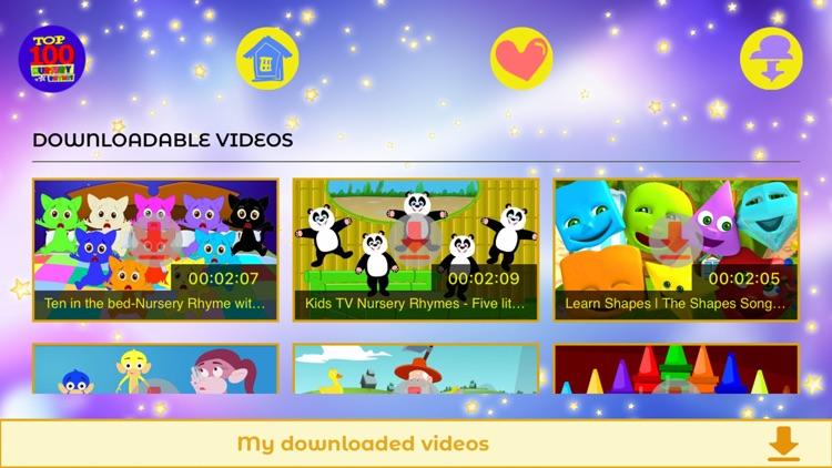 Top 100 Nursery Rhymes screenshot-3