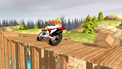 Offroad Stunt Bike rider 2018 screenshot two