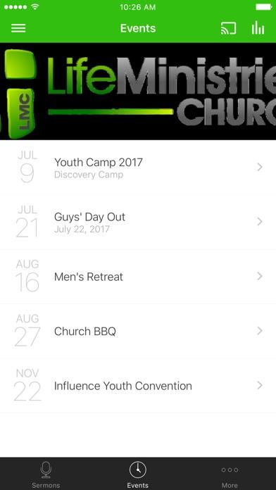 LIFE MINISTRIES CHURCH - Texas screenshot 2
