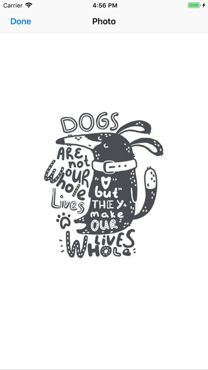 I love dogs : Stickers