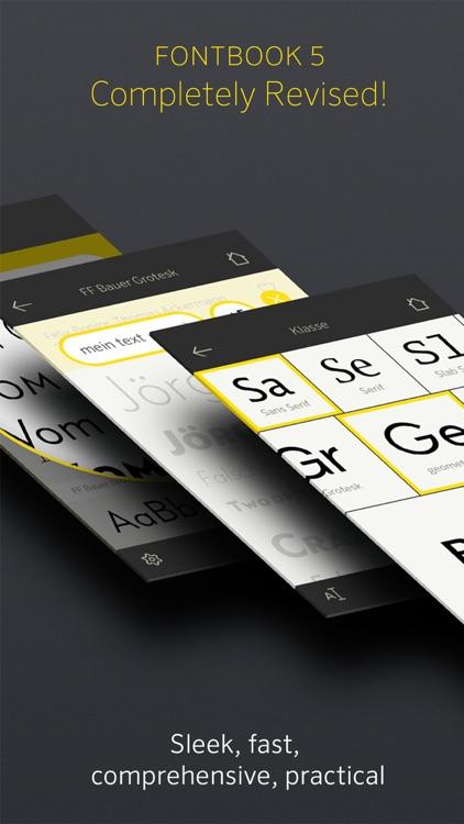 FontBook™ Typeface Compendium
