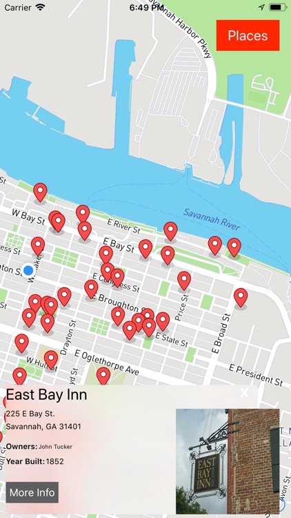 Savannah Ghost Map
