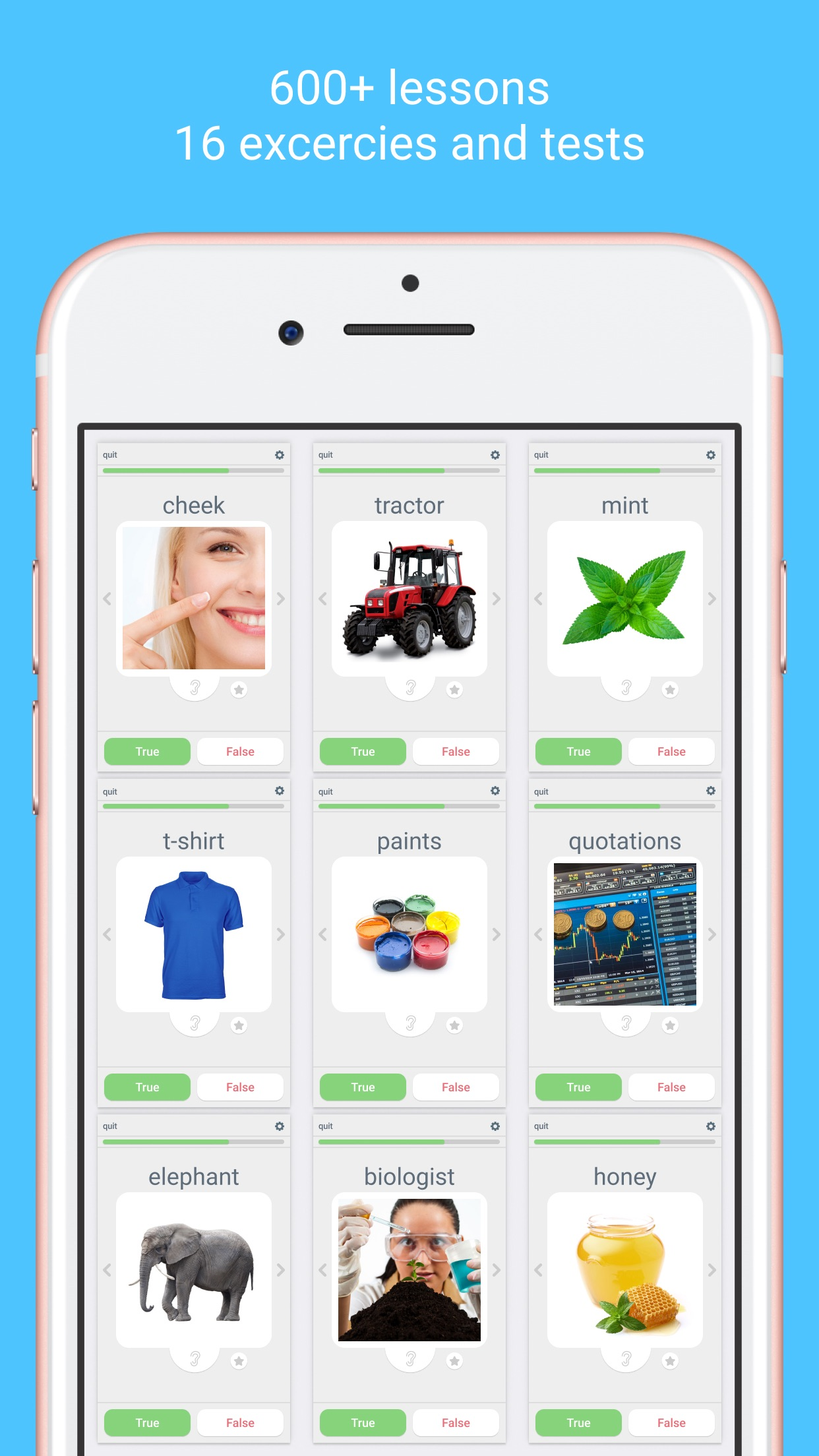 Learn languages - LinGo Play Screenshot