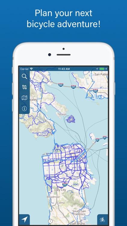 Bike Maps screenshot-4