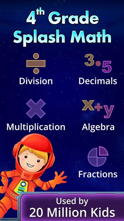 Fourth Grade Splash Math Games