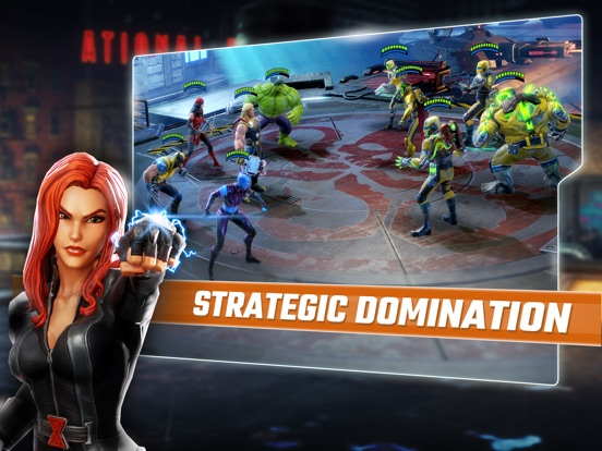 MARVEL Strike Force: Squad RPG screenshot 10