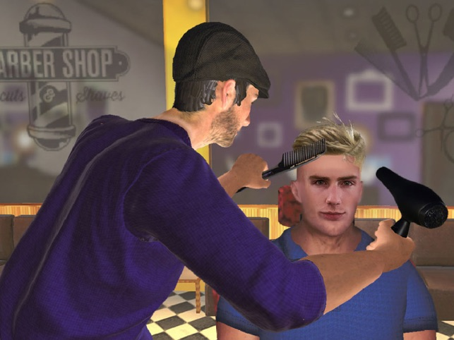 Barber Shop Hair Cut Games 3d On The App Store
