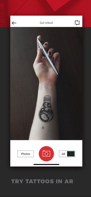 Inkhunter try tattoo designs on the app store inkhunter try tattoo designs on the app store gumiabroncs Images