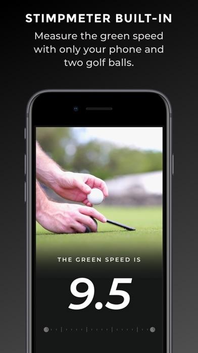 Golf Scope - AR Green Reading Screenshot