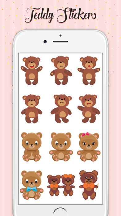 Teddy Love Stickers screenshot 3