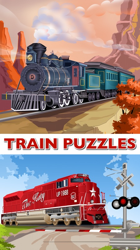 Train Jigsaw Puzzles for Kids - Online Game Hack and Cheat