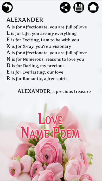 Name Poem Maker - Name Meaning by Touchzing Media (iOS, United