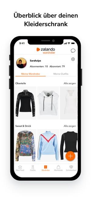 Zalando Wardrobe Im App Store