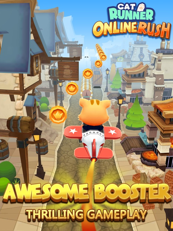 Cat Runner - Online Rush на iPad