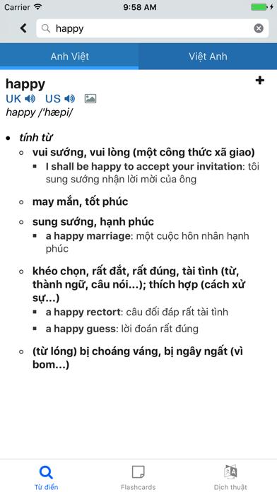 Từ Điển Anh Việt Pan Dict (Tu Dien Viet Anh) screenshot one