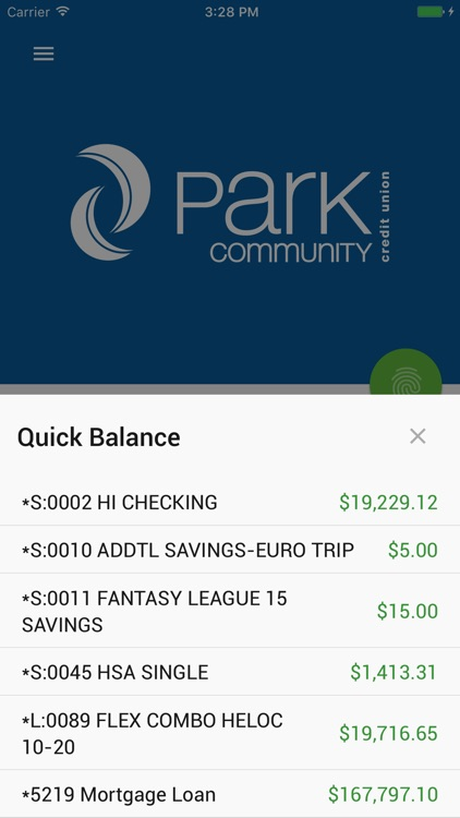 Park Community CU Mobile screenshot-2