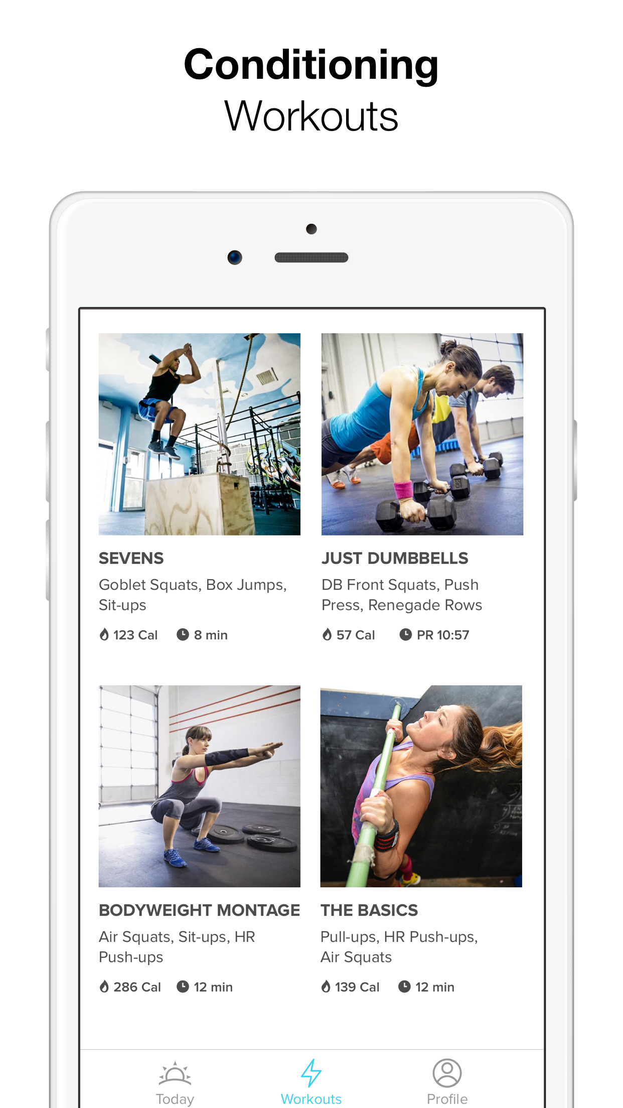 Keelo - Strength HIIT Workouts Screenshot