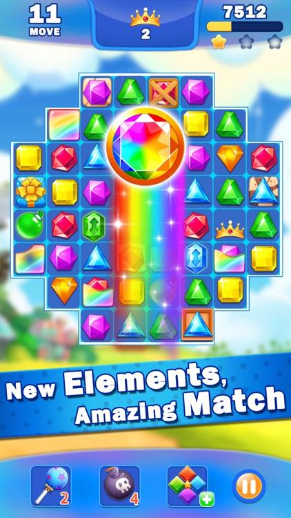 Jewel Crush®- Match 3 Games screenshot-4