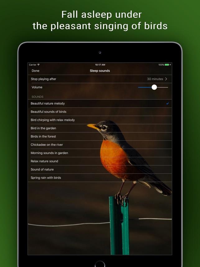 Bird Alarm Clock & Sleep Sound on the App Store