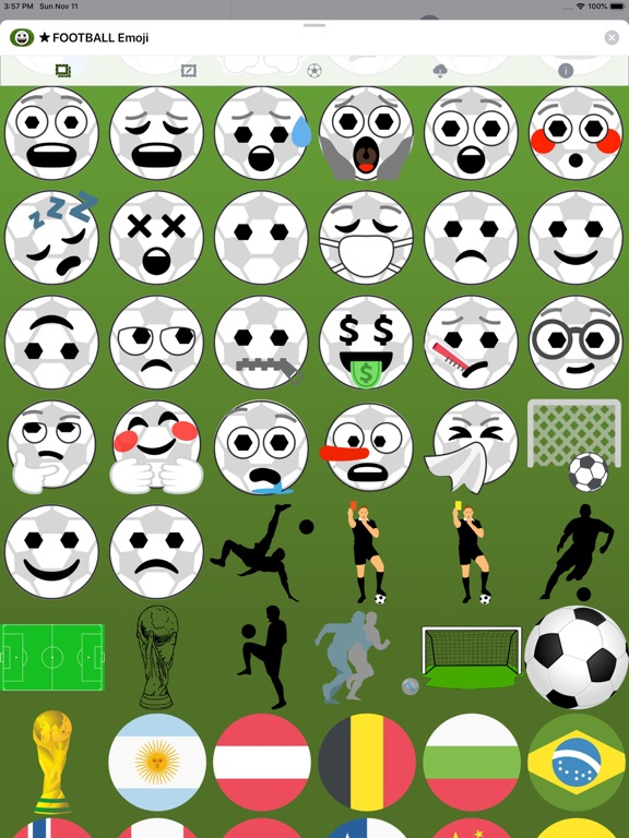 Football Emoji • Stickers screenshot 13