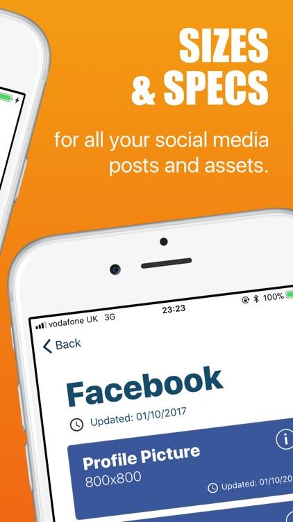 Social Media Design Cheatsheet