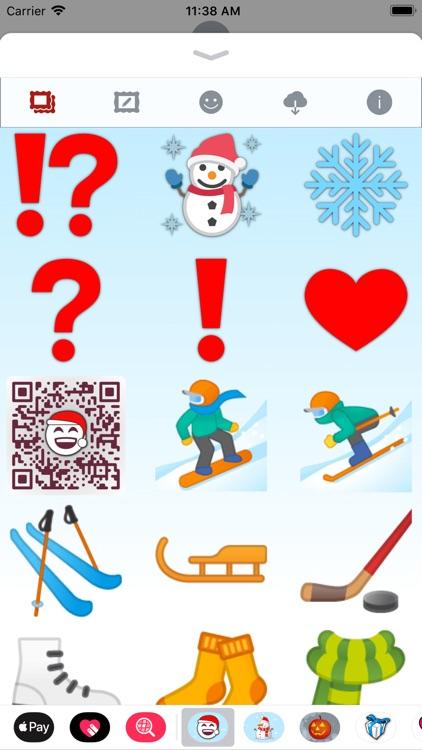 Christmas Emoji • Stickers screenshot-8