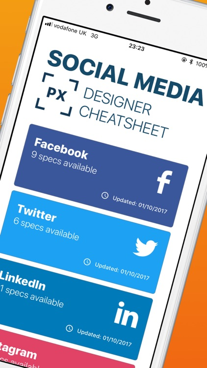Social Media Design Cheatsheet