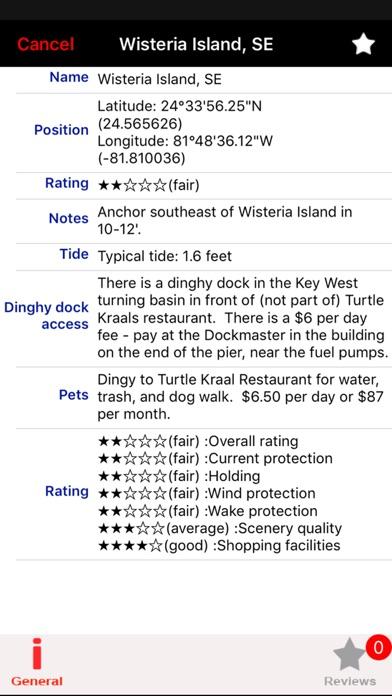 Screenshot of Isole Egadi GPS Carta Nautica2