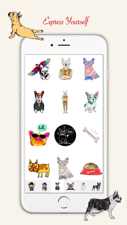 French Bulldog Emoji Stickers screenshot-4