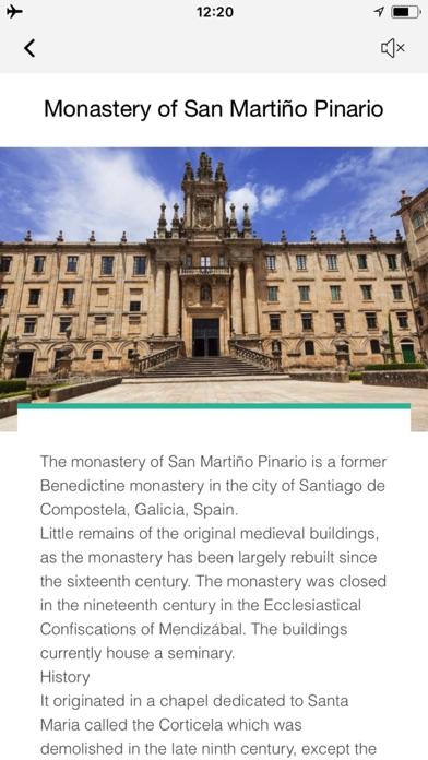 サンティアゴ・デ・コンポステーラ 旅行 ガイド &マップのスクリーンショット4