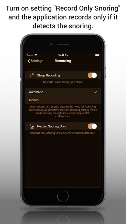Snore Control screenshot-3