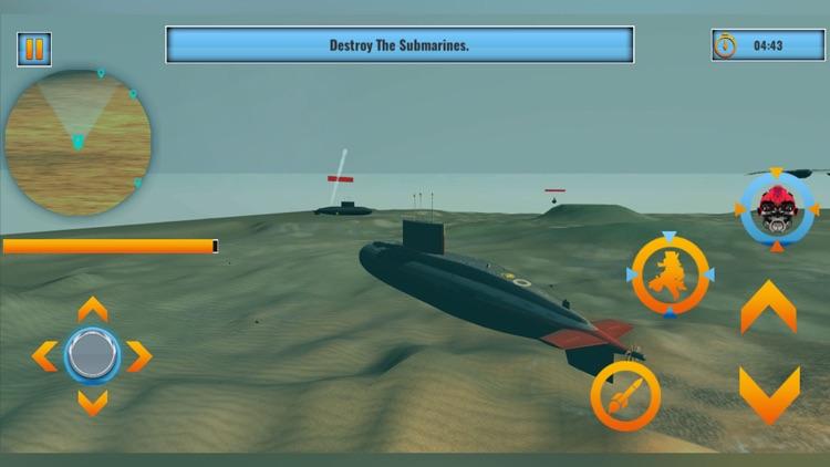 Robot Submarine Warfare screenshot-3