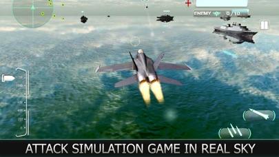 Air Force Jet Fighter 3D screenshot one