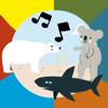 Michael Geidel - Jazzoo Koala, Shark & friends artwork