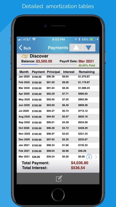 Screenshot for Debt Free - Pay Off your Debt in Kazakhstan App Store