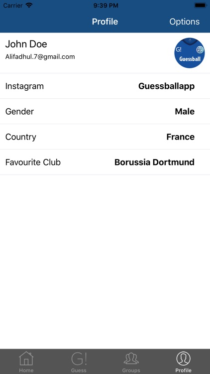 Guessball App screenshot-4