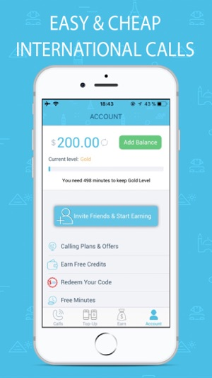 Bluee International Calls on the App Store