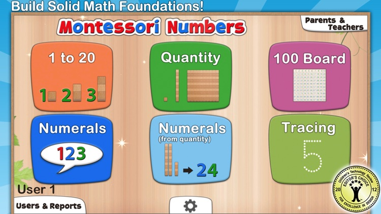 Montessori Numbers for Kids