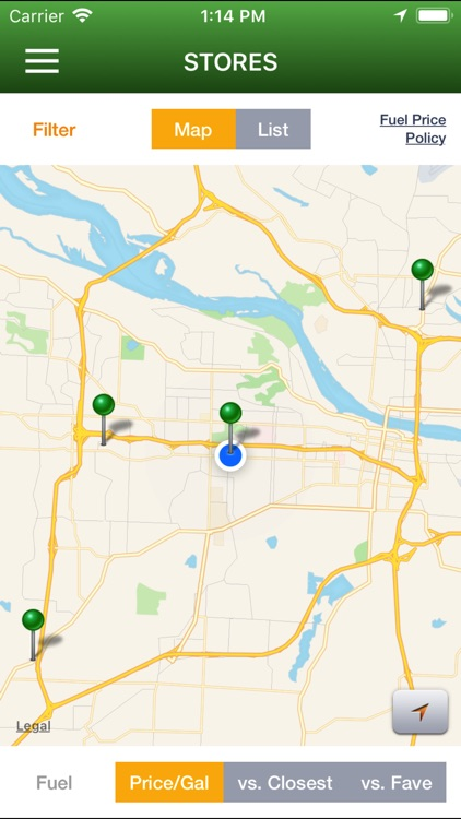MY MAPCO screenshot-1