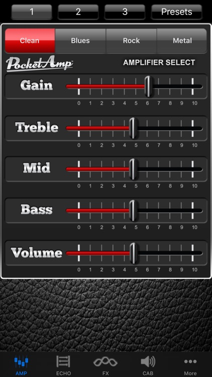 PocketAmp - Guitar Amp Effects