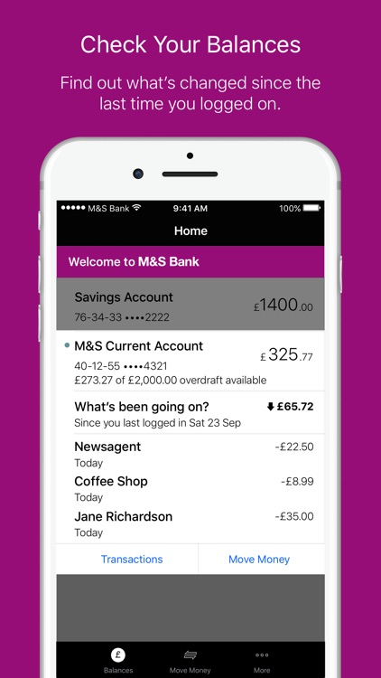 M&S Banking screenshot-1