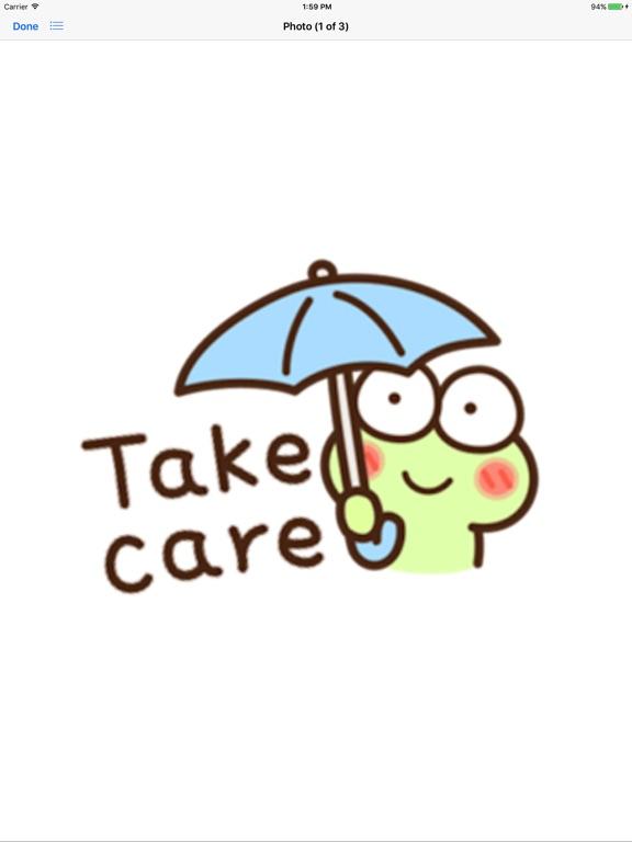 Very Cute Frog Emoji Sticker screenshot 7