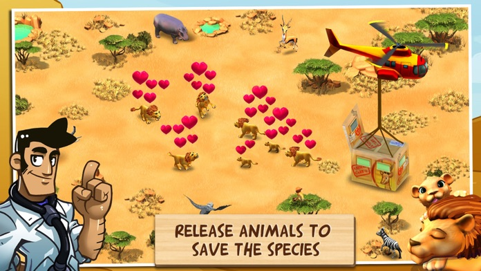 Wonder Zoo - Animal Rescue! Screenshot