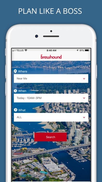 brewhound - The Happy Hour App screenshot-3