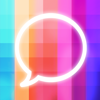 Andrew Halligan - Message Makeover - Colorful Text Message Bubbles アートワーク