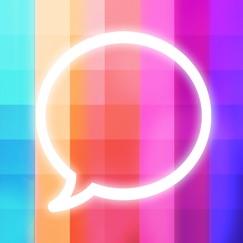 Message Makeover - Colorful Text Message Bubbles Обзор приложения