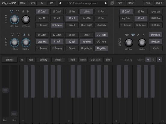 AudioKit Digital D1 Synth screenshot #6